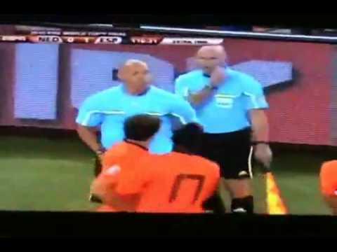 Netherlands Vs Brazil (2-1) Brazilian Coach Dunga interview 2.07.10 Spain España