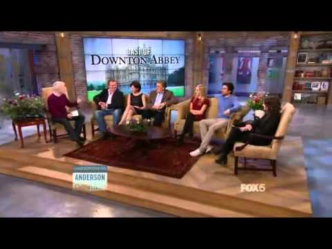 Anderson Live: The Cast of Downton Abbey (Part 1/2)