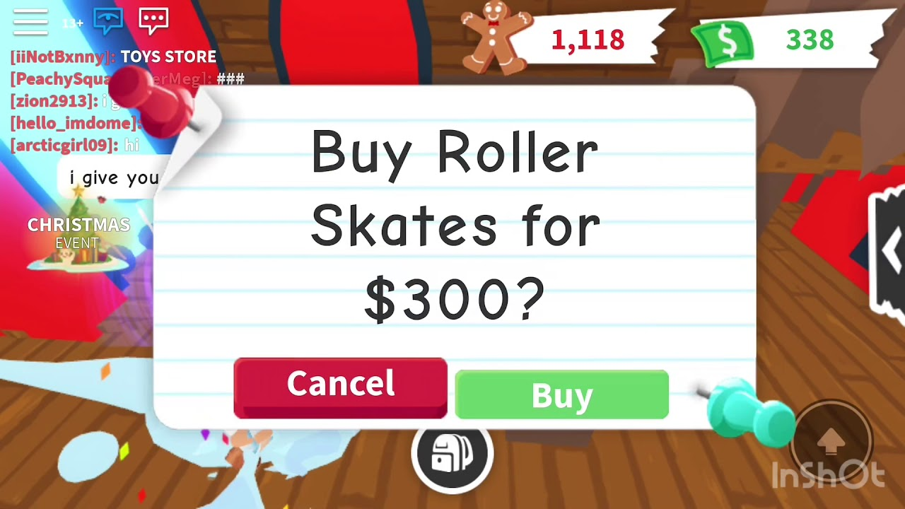 Roblox Adopt Me:Roller Skate (New Update)