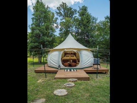 Building a platform for your Lotus Belle tent & Building a platform for your Lotus Belle tent - YouTube