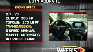 Ed Martin Acura 2011 TL - Road test and review