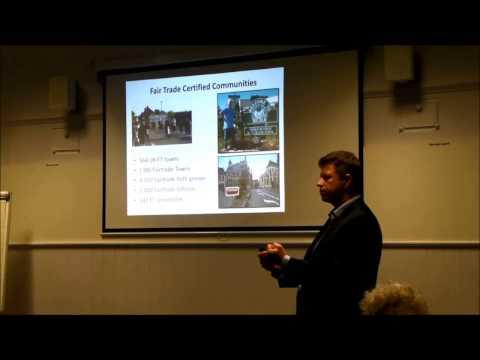 Professor Bob Doherty at the York Fair Trade Forum AGM