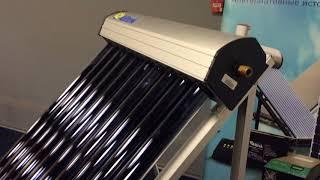 Обзор вакуумного солнечного коллектора от компании Goff