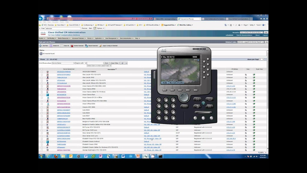 Cisco Extension Mobility Setup and Demo