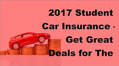 2017 Student Car Insurance  | Get Great Deals for The Student in Your Family