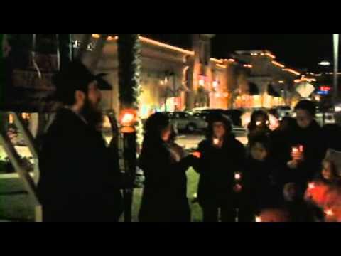 Public Menorah Lighting 2011.mp4
