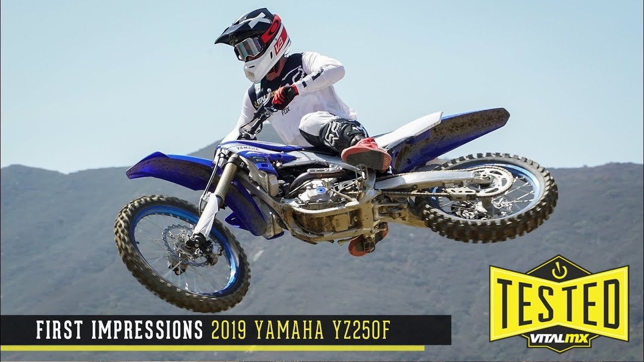first impressions 2019 yamaha yz250f youtube. Black Bedroom Furniture Sets. Home Design Ideas