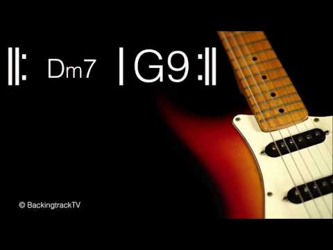Funky Guitar Backing Track in Dm / D Dorian