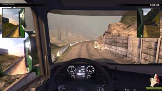 Scania Truck Driving Simulator The Game  Gameplay PC/HD (Comentariu In Romana)