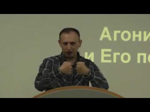 Агония Христа и Его послушание. Константин Чибизов