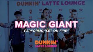 Magic Giant Performs