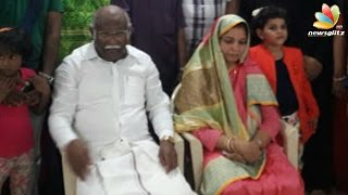 ADMK MP's third marriage at 71 years | Latest Tamil News