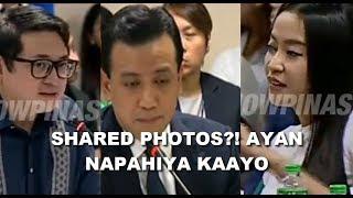 Shared photos ni Mocha Uson naging big deal, Trillanes at Bam Aquino napahiya