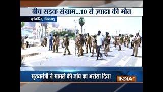 11 killed in police firing as protest over Sterlite plant in Tamil Nadu turns violent