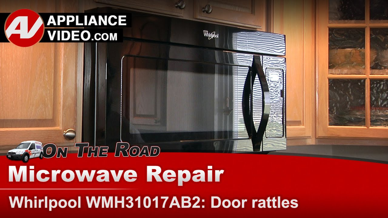 hight resolution of microwave door replacement and repair whirlpool maytag roper