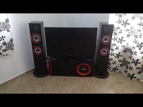 Instalar sonido de auto en casa con fuente de poder de computadora youtube - Equipo musica casa ...