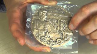 La Monnaie de Paris First World War Bronze Commemorative Medal