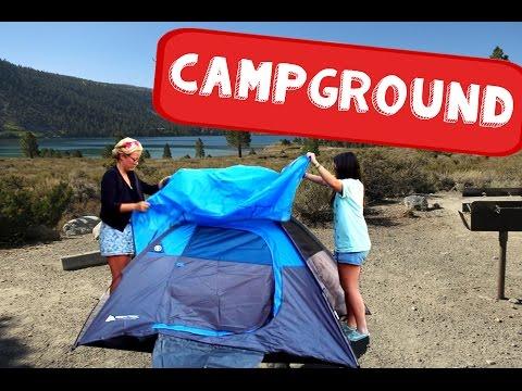 Road Trip aux USA : SURVIVRE EN CAMPING !