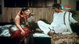 Allari Krishnaiah  Scene - Maruti Rao  With Y Vijaya