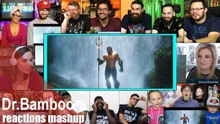 AQUAMAN – Extended Trailer REACTIONS MASHUP