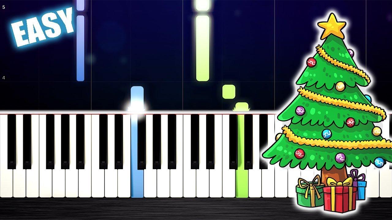 EASY CHRISTMAS PIANO SONGS - YouTube