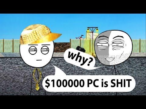 When poor gamer visits rich gamer