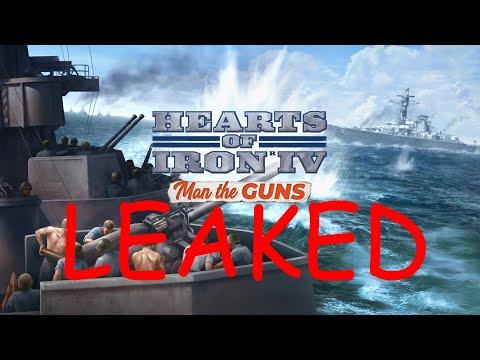 [Hearts of Iron IV] - Man the Guns Feature LEAK |