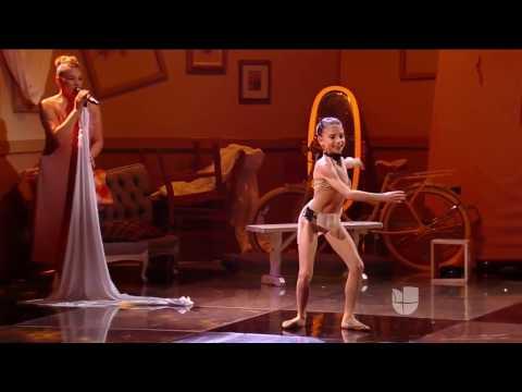 Pequeños Gigantes USA   Leah bailó 'La Bicicleta' de Carlos Vives Ft  Shakira