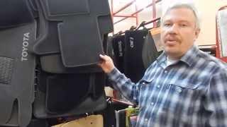 видео Автомобильные коврики в салон