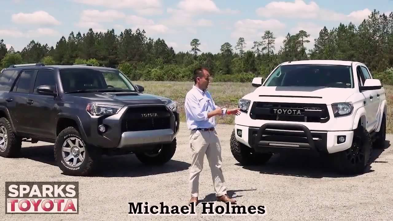 Supercharged Tundra TRDPRO and a custom 4Runner TRD - YouTube