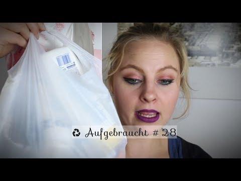 ♻️ Aufgebraucht #28 | Beautymüll | Platt gemacht | Top oder Flop | BeautybyDoerthy