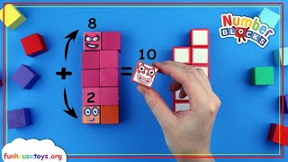 Numberblocks | Addition for Kids | Learn to Count | Fun House Toys Number Blocks