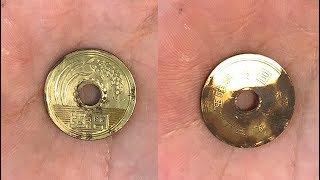 【5 Yen coin Polishing】A real coin polish that an amateur polishes. I look forward to future growth.