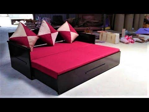 Sofa Cum Bed Queen Size Models & Designs in Popular Furnitures Bangalore