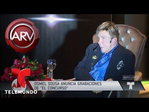 Osmel Sousa anuncia grabaciones de El Concurso | Al Rojo Vivo | Telemundo