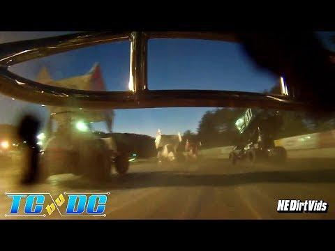 Ryan Avery On-Board | Sprint Cars of New England at Bear Ridge Speedway 6 24 2017