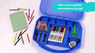 Crayola® Ultimate Art Supplies With Easel Demo