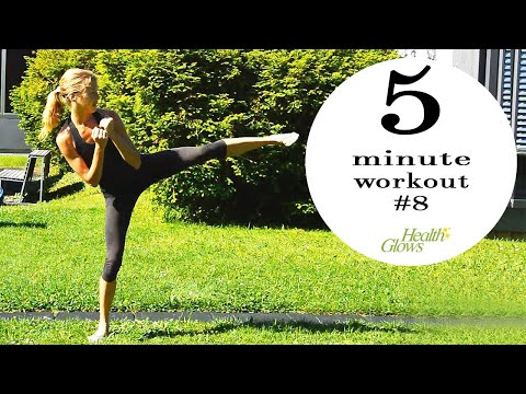 5 Minute Fitness Routine #7 (Zurich, Switzerland)