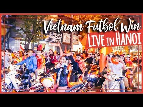 Hanoi | Việt Nam vô địch - Vietnam Wins Semi Final AFC U23 2018