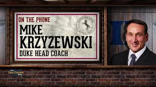 Duke HC Mike Krzyzewski Talks Zion, Parenting & More w/Dan Patrick | Full Interview | 1/10/19