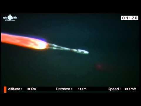 Galileo Launch 3 (satellites 5 & 6) - Liftoff replay