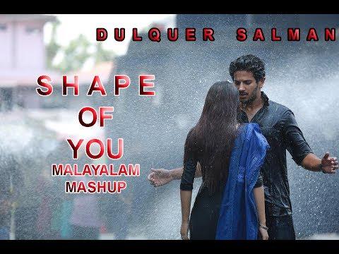 Ed-Sheeran - Shape Of You - Malayalam Mashup |Dulquer Salman Version | Aswin Ram | Rithin Rajesh
