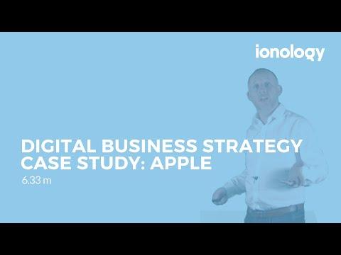 Digital Business Strategy Case Study: Apple - YouTube