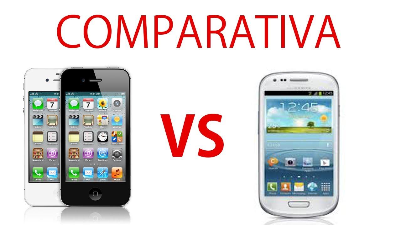 samsung galaxy s3 mini vs apple iphone 4s //COMPARATIVAS ...