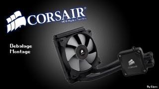 dballage montage corsair h60 hydro series
