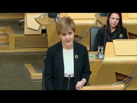 Urgent Statement by the First Minister: Attack on Manchester - Scottish Parliament: 23 May 2017