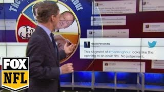 Cooper Manning responds to his favorite tweets | FOX NFL KICKOFF