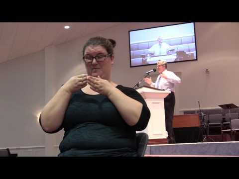 """""""Disturbing and Delivering Ministry of the Plow"""" in ASL"""