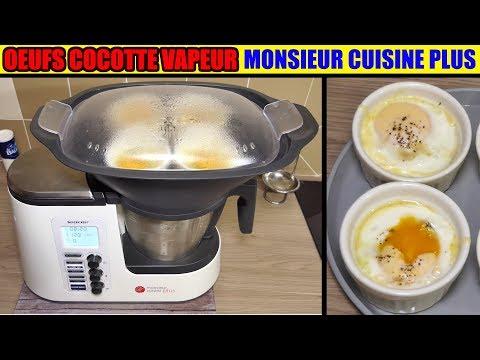 œufs-cocotte-aux-épinards-monsieur-cuisine-plus-thermomix-cuisson-à-la-vapeur