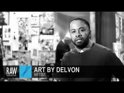 ART BY DELVON at RAW:Atlanta Discovery 02/21/2013